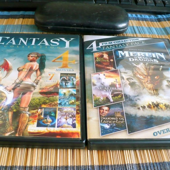 ❤️ Fantasy Collection dvds 8 Movies 13 HOURS